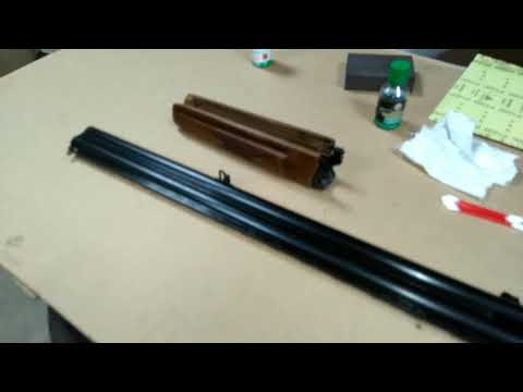 Вопрос: Как произвести воронение ствола пистолета?