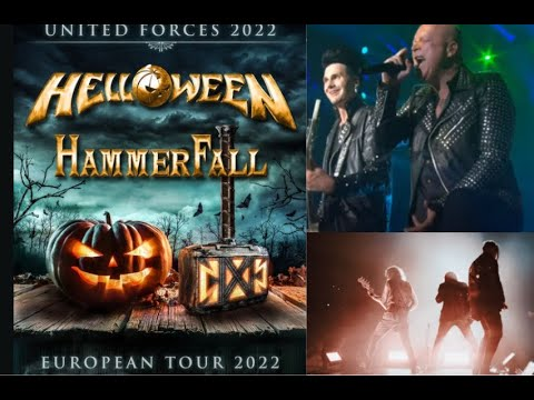 HELLOWEEN announce 2022 United Forces Tour with HammerFall ....!!