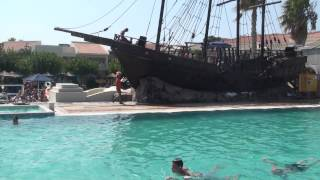 Kipriotis Village Hotel - July 2013 - Pirate's Ship Thumbnail