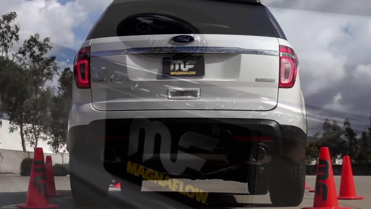 2012 2015 ford explorer turbo performance exhaust system kit magnaflow 15142