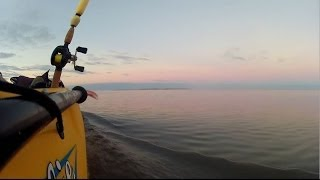 Kayak Fishing in East Galveston Bay - 4/9/12