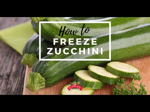 How to Freeze Zucchini (Preserving the Harvest)