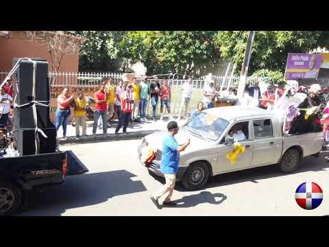 Desfile Estudiantil 2020, Acto Del 176 Aniversario De La Independencia Nacional En Villa González...