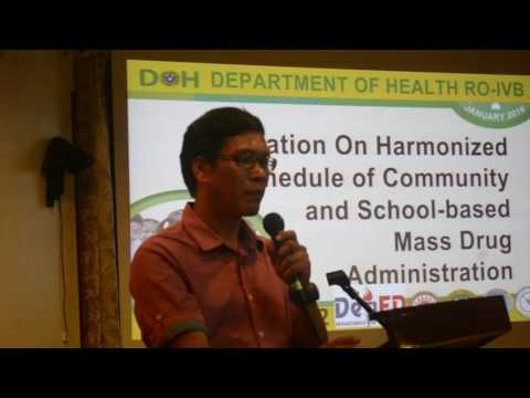 National School Deworming Orientation MiMaRoPa