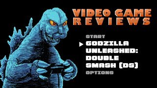 Godzilla Unleashed Double Smash (DS) - MIB Video Game Reviews Ep 4