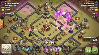 Am bagat inferno towerele la max+War vs Romani |Clash of Clans Romania