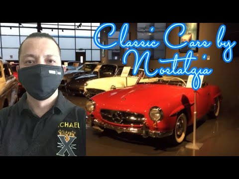 Dubai Classic Car's by NOSTALGIA Showroom in Al Serkal Avenue – Work Vlog #6 by Manalo