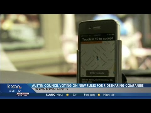 Highly anticipated vote expected on transportation network companies in Austin