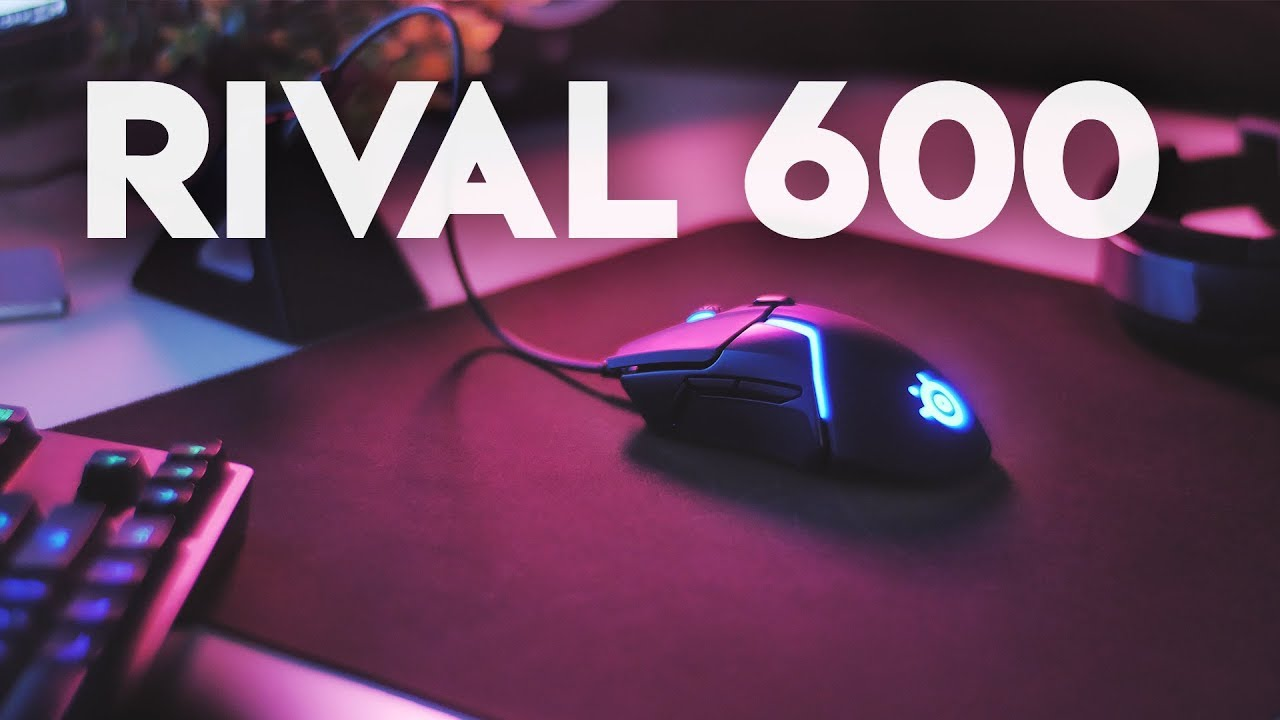 Steelseries RIVAL 600 - The Best Gaming Mouse of 2018?