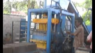 Cement Brick & Concrete Block Machine in Malaysia
