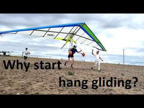 Why risk learning hang gliding?