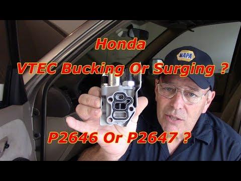 VTEC Repair  P2647 Or 2646 (Pressure Circuit Voltage High Or Low)