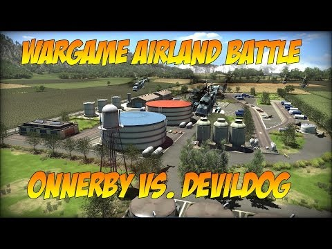 """Wargame Airland Battle """"Onnerby vs. DDG"""""""