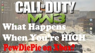 Modern Warfare 3 Trolling Random Players Ep.2 Part 2 - Trolling PEWDIEPIE? Hilarious High Dude!!!