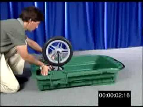 World Thinnest Portable, Folding Carts/folding Wagons By PancakeWheel.com