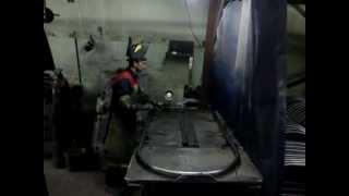видео Производство штендеров. Как сделать штендер