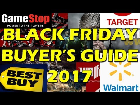 Black Friday 2017 Buyers Guide