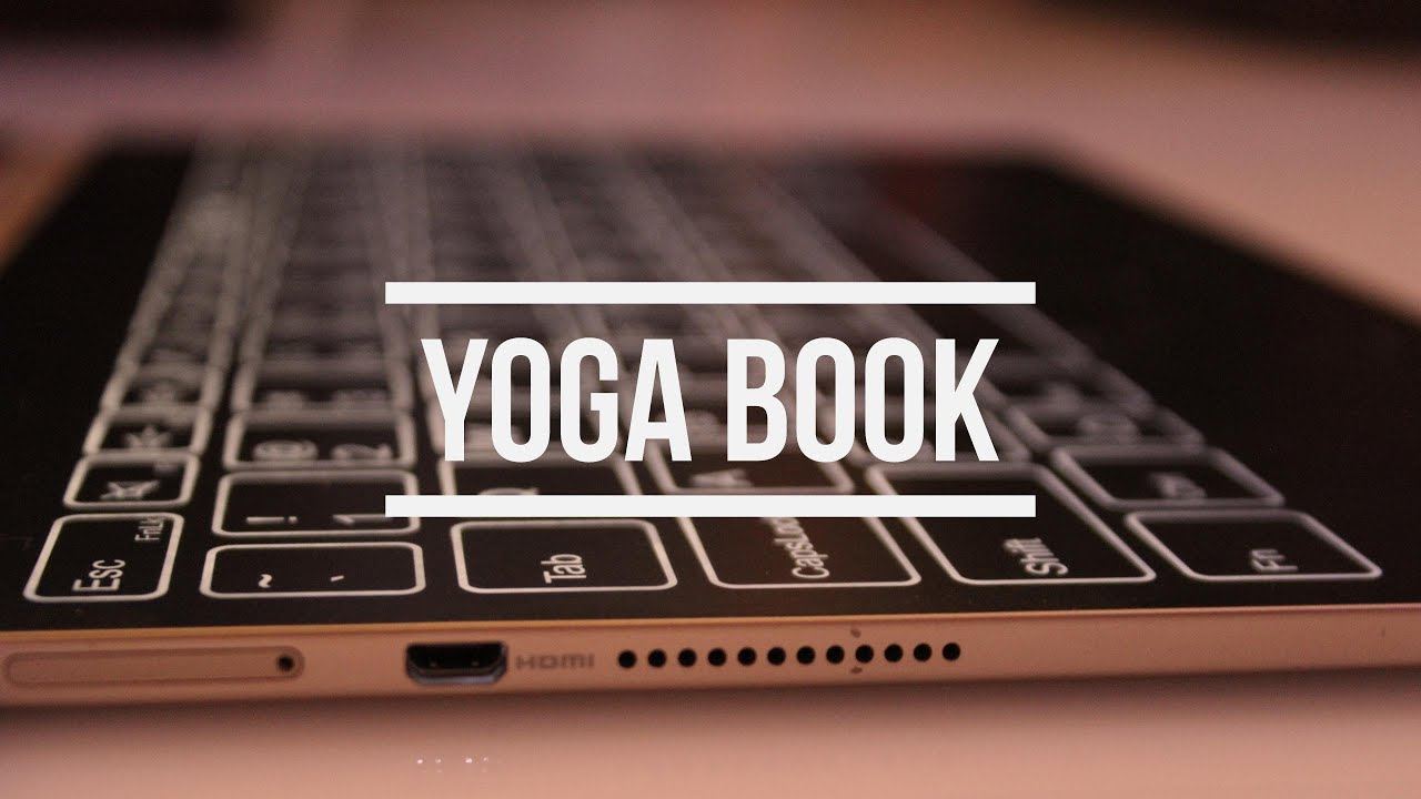 Lenovo Yoga Book Android Update