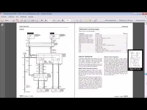 2005 F150 Fuse Box Location Manuales Kia Sportage 1994 2003 Youtube