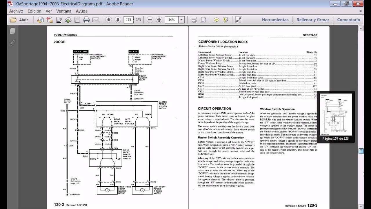 2009 Kia Rio Fuse Box Simple Guide About Wiring Diagram Manuales Sportage 1994 2003 Youtube