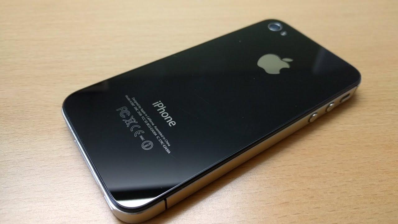 Jet Black Iphone 4s 😝 Youtube