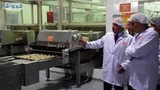 قابيل يزور منطقة بولاريس الصناعية ويتفقد مصنعا لانتاج المنتجات الغذائية باستثمار ١.٥ مليار جنيه