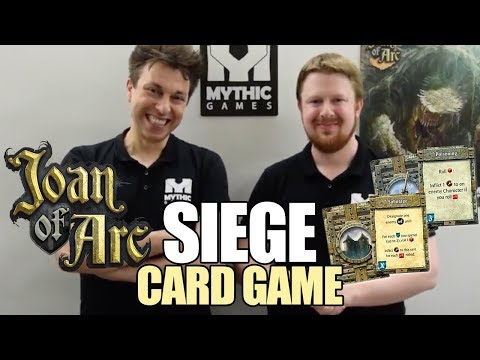 Siege Card Game for Time of Legends: Joan of Arc