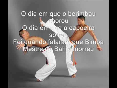 musica de capoeira o dia que o berimbau chorou