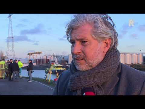 Peter Oskam (burgemeester Capelle aan den IJssel) over auto-ongeluk aan de Groenedijk