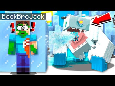 ESCAPE THE GIANT FROST MONSTER!