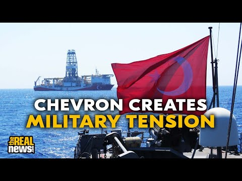 Chevron Plans Middle East Offshore Drilling, Capitalizing on Militarized Climate Chaos