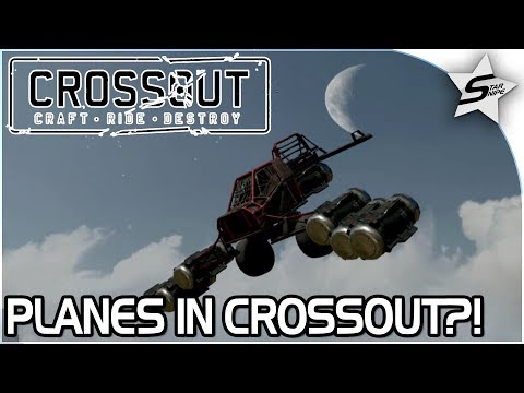 """""""PLANES IN CROSSOUT?!"""" - PLANE + SCORPION BUILDS!! - Crossout Open Beta NEW Gameplay"""