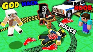 Minecraft NOOB vs PRO vs HACKER vs GOD : WHO KILLED POLICEMAN? INVESTIGATION! IN MINECRAFT