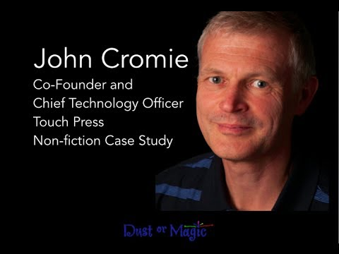 John Cromie, Co-Founder and Chief Technology Officer, Touch Press Non-fiction Case Study