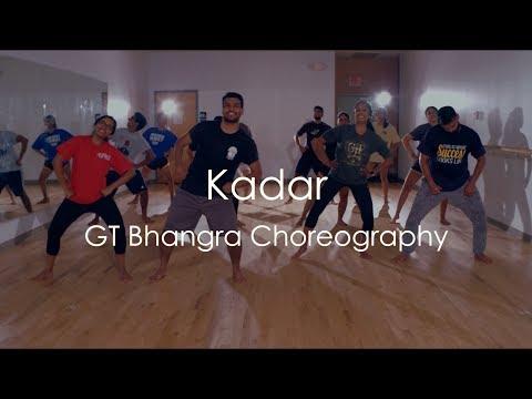 """KADAR"" - Mankirt Aulakh | GT Bhangra Choreography"