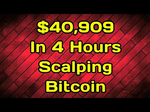 JUST MADE $40,909 In 4 HOURS SCALPING BITCOIN BYBIT TRADING