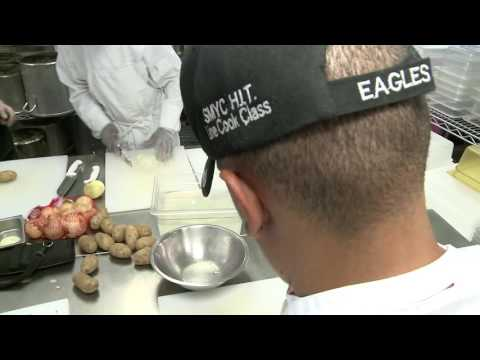 Troubled Youth Given Culinary Training