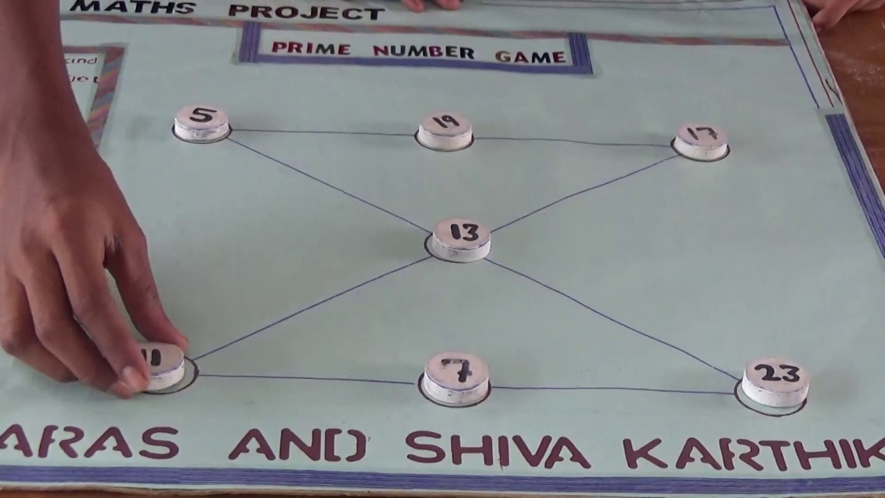 Prime Number Game   Maths Project     YouTube Prime Number Game   Maths Project