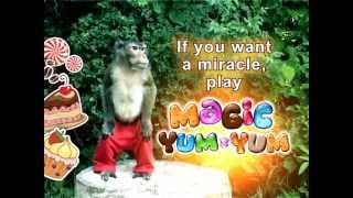 Monkey having fun with Magic Yum-Yum ★ Funny Android iPhone iPad iPod game