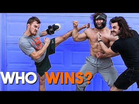 Bodybuilder vs MMA Fighter vs Hipster