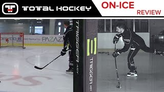 ccm ribcor trigger asy stick on ice review