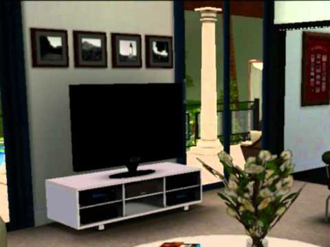 Los sims 3 casa de lujo decoraci n youtube - Casa casa decoracion ...