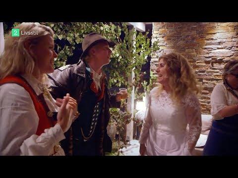 Vendela Kirsebom og Petter Pilgaard krasjer bryllup i Hardanger