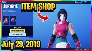 FORTNITE ITEM SHOP *NEW* BACHII SKIN AND TIDAL WAVE WRAP RETURNS! | ITEM SHOP (July 29, 2019)
