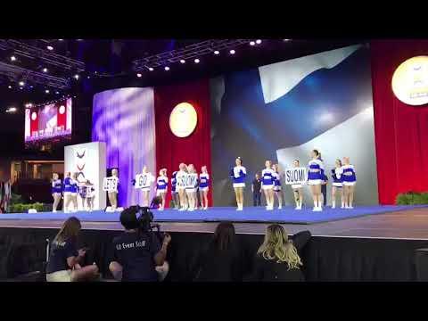 Team Finland All Girl Premier - Cheerleading 2018
