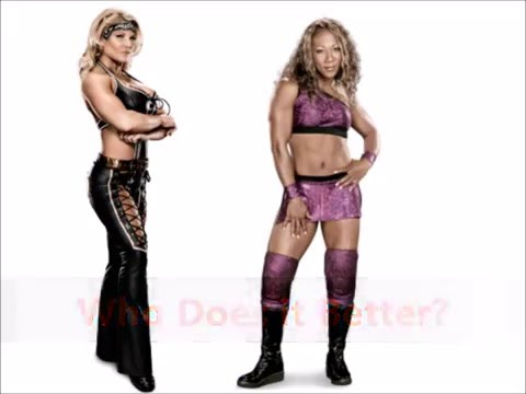 Beth Phoenix vs Jazz- Elevated Double Chickenwing