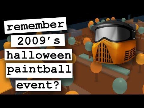 Remember 2009's Halloween PAINTBALL Event? - Nostalgia Blox