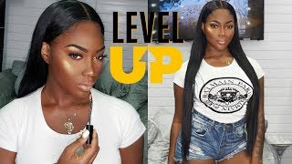 LEVEL UP 30 INCHES B! COME TO THE SALON WITH ME   JULIA HAIR