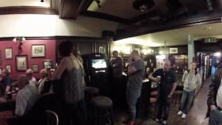 The White Lion Pub 2016 The Marv White Blues Band GoPro 1