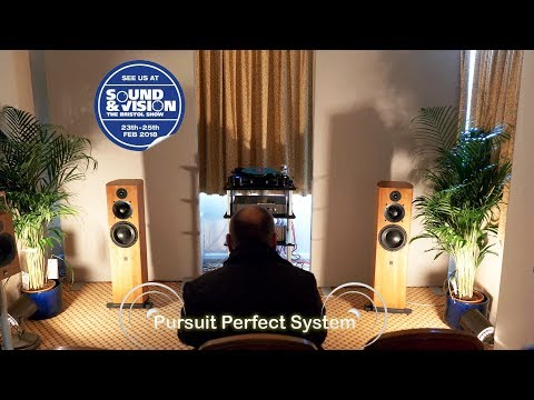 ATC SCM40A HiFi Loud Speakers CDA2 Mk2 CD/DAC preamplifier @ Bristol Show Sound & Vision 2018